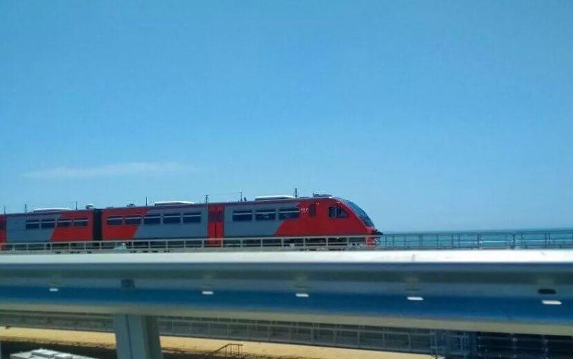 Поезда между Крымом и Кубанью 2020