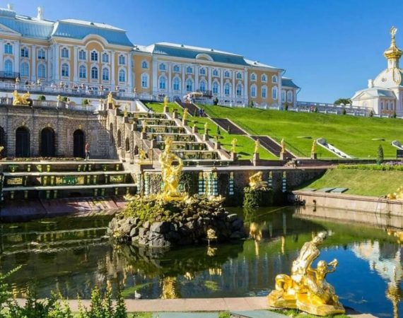 Онлайн экскурсии по Санкт-Петербургу
